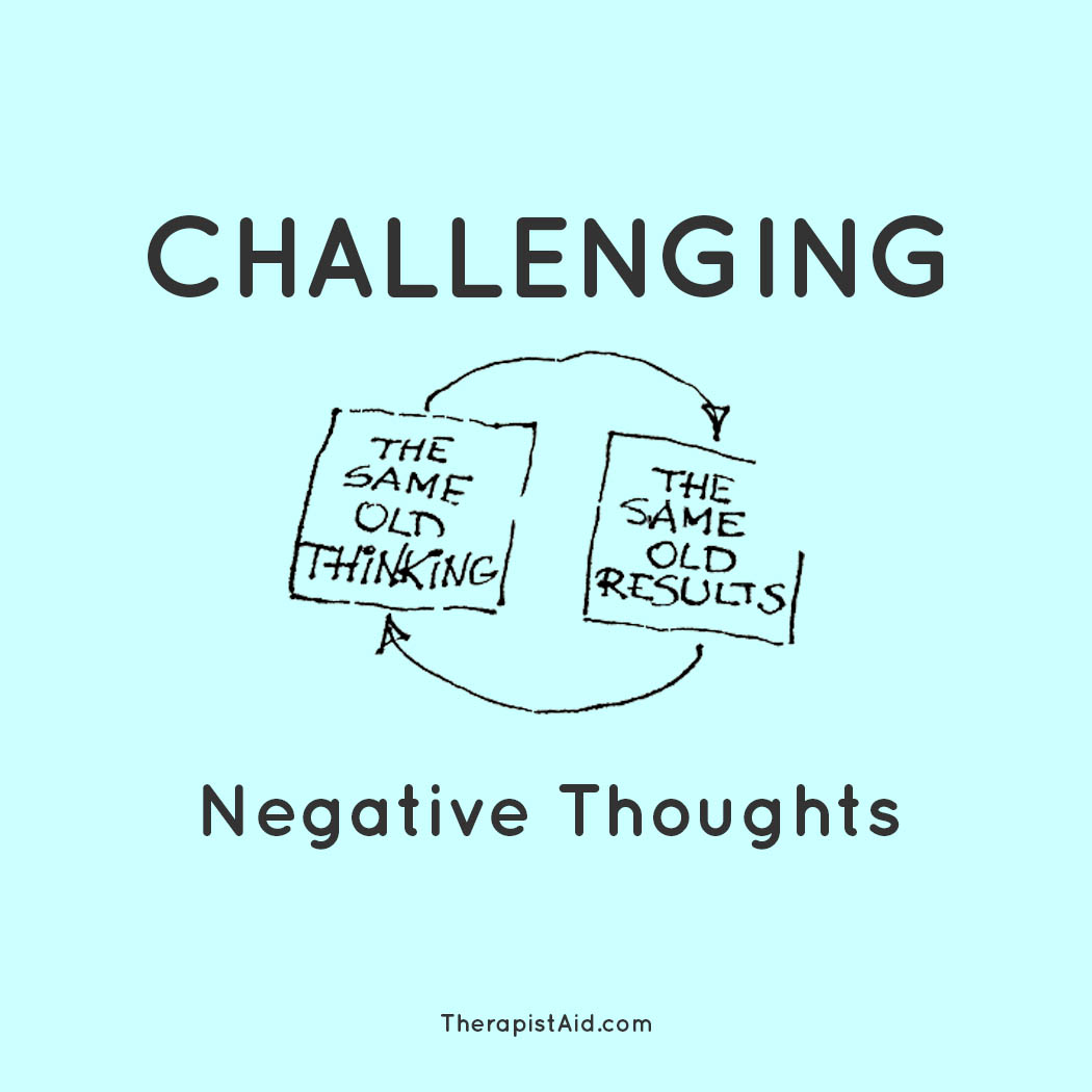 Challenging Cognitive Distortions Automatic Thought Record ...